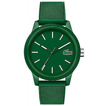 Lacoste 2010985 Men's 12.12 Green Resin Wristwatch