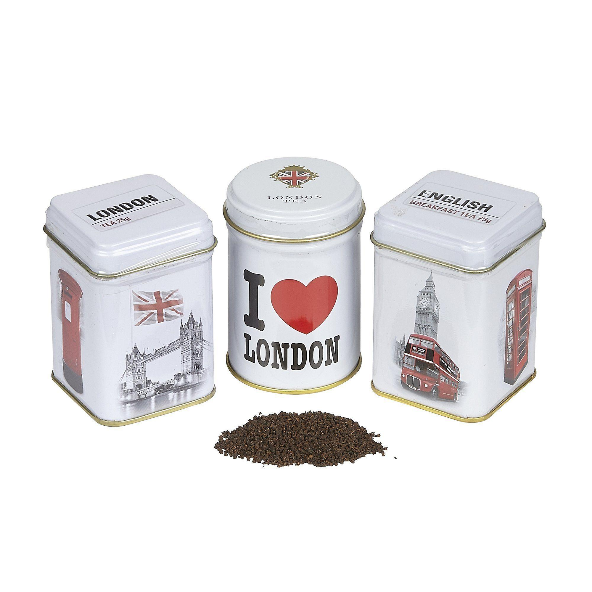 I love london triple tea selection mini gift pack