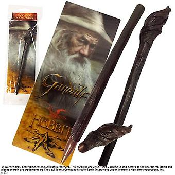 Gandalf the Grey Staff Pen and Bookmark Set from The Hobbit An Unexpected Journey