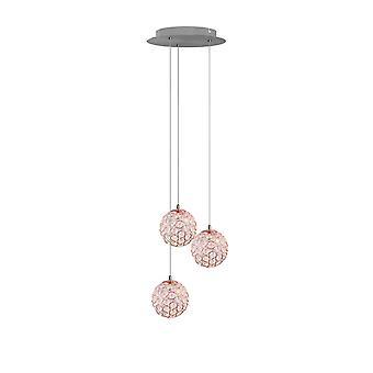 Brillcool Mars nikkel drie hanger ronde luifel
