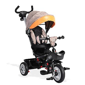 Byox Tricycle 3 in 1 tricycle Atlas télescopic steering rod rotatable seat tounroof