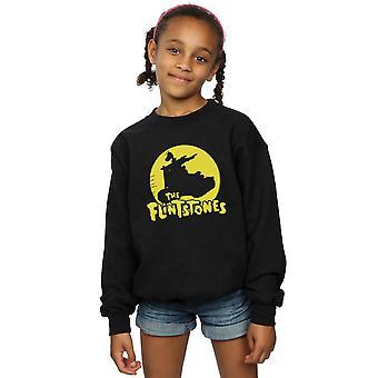The Flintstones Girls Car Silhouette Sweatshirt