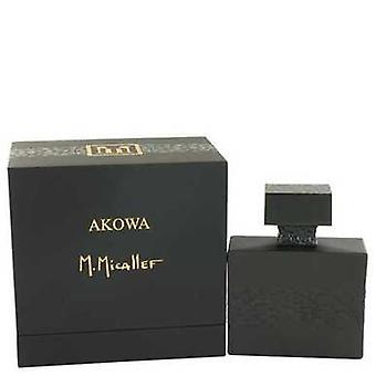 Akowa By M. Micallef Eau De Parfum Spray 3.3 Oz (men) V728-532890