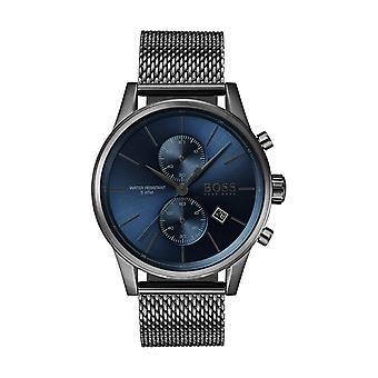 Hugo Boss SPORT luxury 1513677 - orologio cronografo maglia Bracciale uomo Milanese