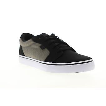 DC Anvil TX SE mens zwart canvas Lace up atletische skate schoenen