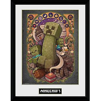 Minecraft, Painting - Creeper Nouveau