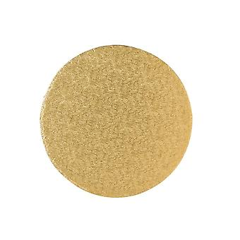 Culpitt 11>quot; (279mm) Tavola torta Rotondo Oro Fern Pack di 5