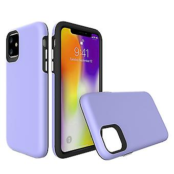 For iPhone 11 Case, Shockproof Protective Strong Cover Purple