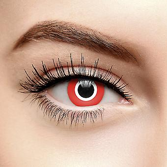 Red Assassin Halloween Lentilles de contact colorées (Quotidien)
