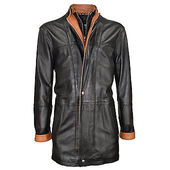 Men's Leather Coat Wings 14K