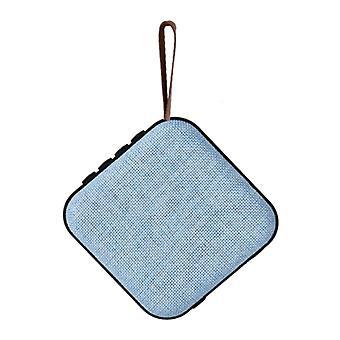 Ukkuer Wireless Loudspeaker External Speaker Wireless Bluetooth 4.2 Speaker Soundbar Box Blue
