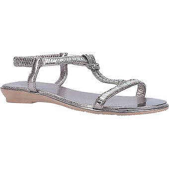Divaz mujeres Roxy Slip En sandalias de verano brillantes