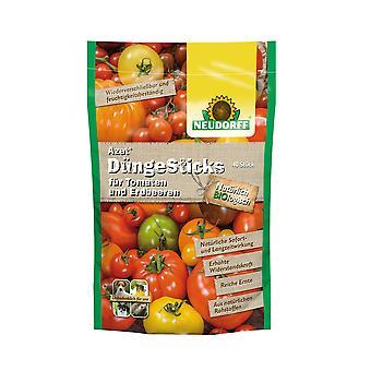 NEUDORFF Azet® FertilizerSticks for tomatoes and strawberries, 40 sticks