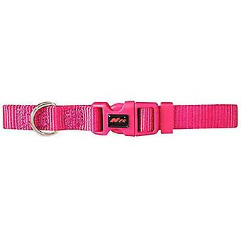 Nayeco Basic dog collar Fucsia Talla M (Dogs , Collars, Leads and Harnesses , Collars)