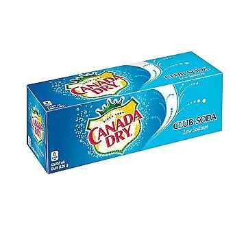 Canada Dry Club Soda-( 355 Ml X 12 Cans )