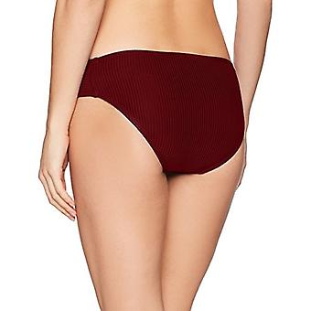 La Blanca Women's Side Shirred Hipster Bikini Swimsuit Bottom, Crimson/Sin-Sa...
