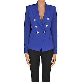 I.c.f. Ezgl456011 Women's Blue Polyester Blazer
