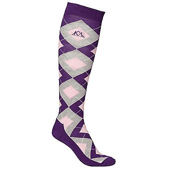 Mountain Horse Lana Womens Sox Socks - Spring Purple