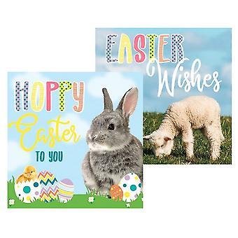 Eurowrap Easter Photo Greetings Cards (Pack of 10)