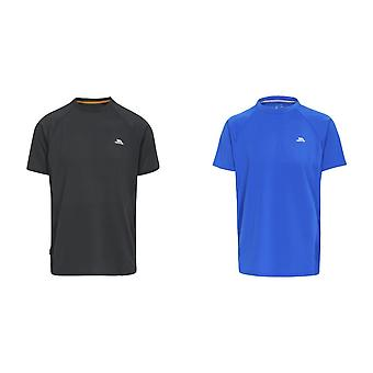 Hausfriedensbruch Mens Cacama Duoskin Active T-Shirt