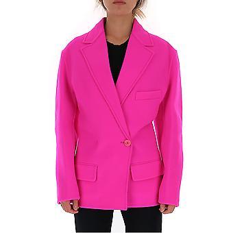 Jacquemus 193ja0519319460 Women's Fuchsia Wool Blazer