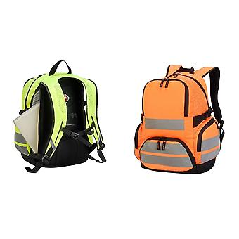 Shugon London Pro Hi-Vis Backpack (Pack of 2)