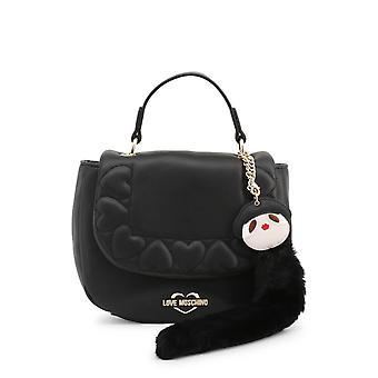 Love Moschino Original Women Fall/Winter Handbag - Black Color 37118