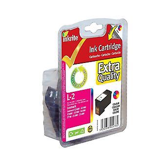 Inkrite NG inktcartridges (No.2) voor Lexmark X2480 X2580 X3480 X3580-18C-0190 kleur