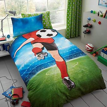 Football Childrens Single Duvet Cover