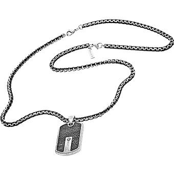 Police Men's Stainless Steel Pendant Necklace S14ABN01P