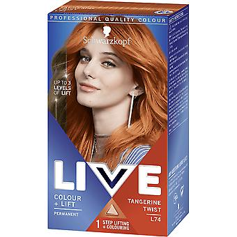 Schwarzkopf LIVE Intense Color + Lift - Tangerine Twist L74