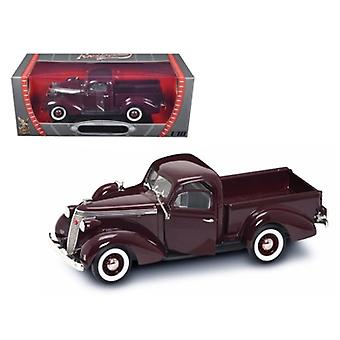 1937 Studebaker Express Pickup Burgundy 1/18 Diecast Model Car By Road Signature