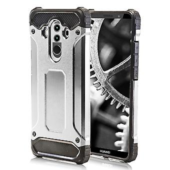 Shell pour Huawei Mate 10 Pro - Silver Armor Hard Protection Case