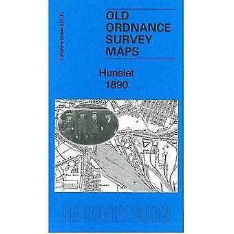 Hunslet 1890: Yorkshire Sheet 218.10 (Old Ordnance Survey Maps of Yorkshire)