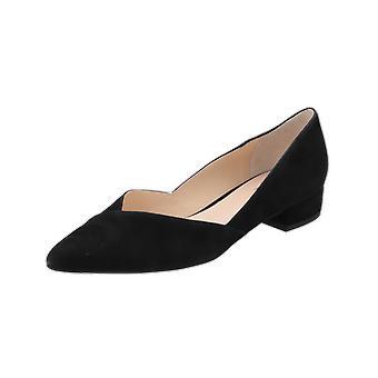 Högl 6-102022 Women's Ballerinas Black Slippers Espadrilles Loafer