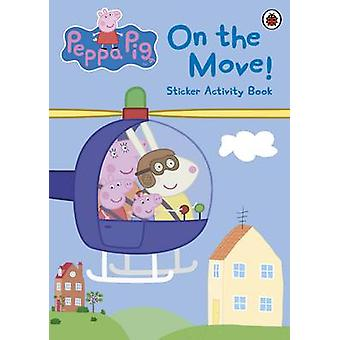 Peppa Pig On the Move Sticker Activity