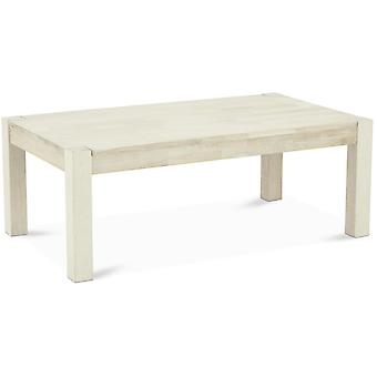 Furnhouse Rettangolare Texas Coffee Table, Rover solido, Sapone Finitura,140x80x52 cm