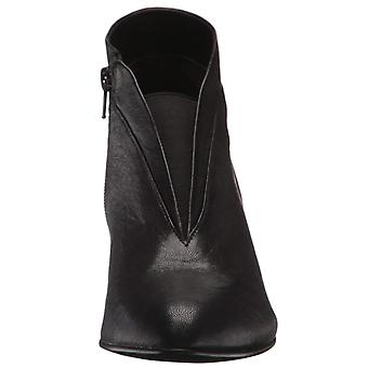 David Tate Womens Natalie Leather Almond Toe Ankle Fashion Boots