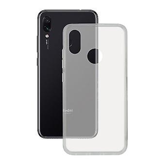Mobile cover Xiaomi Redmi Note 7 Contact Flex TPU Transparent