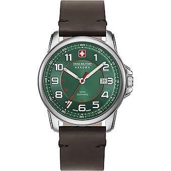 Relógio masculino suíço-militar Hanowa 06-4330.04.006 Relógio Masculino Grenadier Suíço