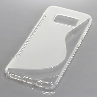 Mobile Shell S-line TPU protection case bumper shell for Samsung Galaxy S8 transparent