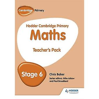Hodder Cambridge Primary Maths Teacher's Pack 6 by Mike Askew - 97814