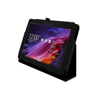 Magnetic PU Leather Case Cover for Asus Transformer Pad TF103C [Black]