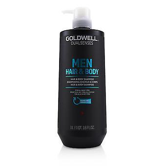 Dual senses men hair & body shampoo (for all hair types) 233120 1000ml/33.8oz