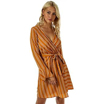 Women's Vero Moda Nicky Long Sleeve Dress in Yellow