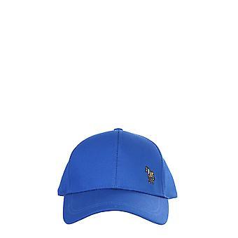 Ps Door Paul Smith M2a987cczebra45 Men's Blue Cotton Hat