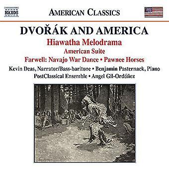 Pasternack / Deas / University of Texas Chamber - Dvorak & America [CD] USA import