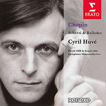 Cyril Huve - Chopin: Scherzi & Ballades [CD] USA import