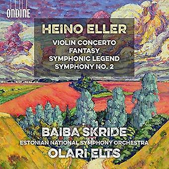 Eller / Estonian National Symphony Orch - Violin Concerto / Symphonic Legend [CD] USA import