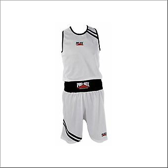 Pro box club essentials boxing vest - white